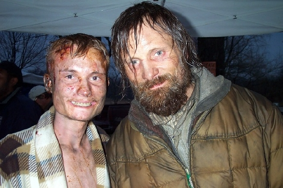 The Road Basement Scene behind the scenes pics from the road + official film website found